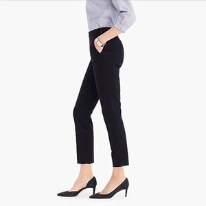 J. Crew | Martie crop black skinny pants | Size 4